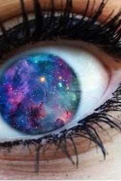 #eye #galaxy #cool