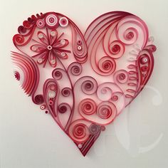 Quilling Heart                                                                                                                                                      More