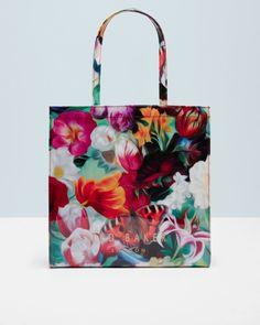 Floral Swirl large shopper bag - Fuchsia   Bags   Ted Baker UK
