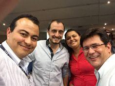 Equipe PC Sistemas: Rafael Martins, diretor de produto; Edna Raimundo, diretor da estratégia e Ivan de Almeida, diretor de suporte.