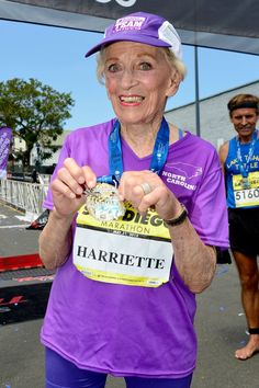 Pin for Later: This 92-Year-Old Cancer Survivor Just Made Marathon History