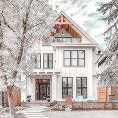 Dream Home Design, My Dream Home, House Design, Dream House Exterior, Dream House Plans, Luxury Homes Dream Houses, Cute House, House Goals, Exterior Design