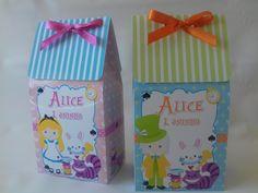 Caixa Alice no país das Maravilhas - G