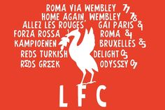 the Liverpool flag that has been to every single Champions League Final we played in...legendary stuff!