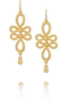 Ben Amun gold-plated earrings, $52.50