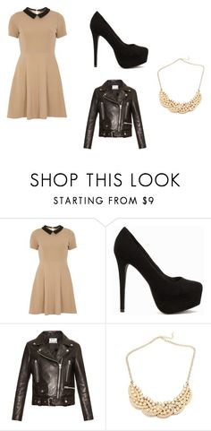 """dress as dream"" by projekttrool on Polyvore featuring moda, mel, Nly Shoes i Acne Studios"