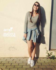 dias a mais dias de paz @loja_amei  #muitoamor #lojaamei #dialindo #vestido #melisseiras #melissa #tênis #camisajeans