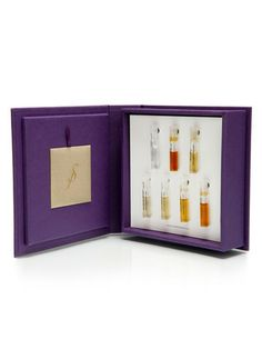 The Strange Invisible Minibar by Strange Invisible Perfumes on Elizabeth Nichol's vanity in House Beautiful Magazine