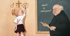 Religious Equation - sad but true.