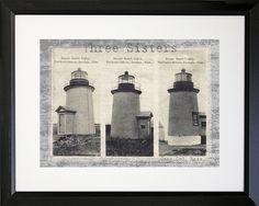 Lighthouse Three Sisters