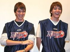James and Oliver Phelps - the Weasley twins