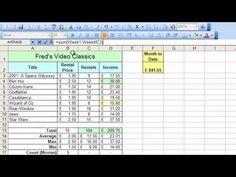 Microsoft Excel Tutorial for Beginners #33 - Worksheets Pt.3 Sum Across Worksheets - YouTube