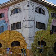 """Cerchio G034"" ##streetart in Staffolo, Italy, by artist Giulio Vesprini. Photo by Giulio Vesprini. - Dirk Schönfeld - Google+"