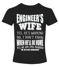 Engineer's Wife Funny Wedding