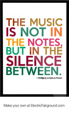 Wolfgang Amadeus Mozart Framed Quote   Mozart 3.0 http://www.scoop.it/t/mozart-by-timvanmotman