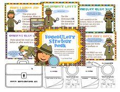 vocabulary strategies | Educational Activities | Pinterest | 1 ...