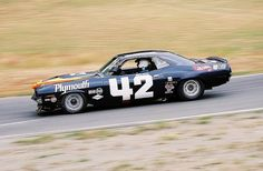 1970 AAR Barracuda - the late Swede Savage driving Dan Gurneys Cuda for AAR