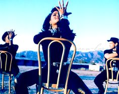 I love it...chair dance Miss you much!