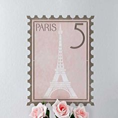 thinking about doing a French theme for Clara's new bedroom.