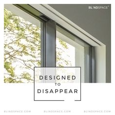 Preserve the clean lines of your new house windows. Remember to leave some hidden space for blinds. Blinds For Large Windows, Blinds For Windows Living Rooms, Bifold Doors, Living Room Blinds, Game Room Bar, Blinds For Bifold Doors, Blinds And Curtains Living Room, Skylight Blinds, Blinds