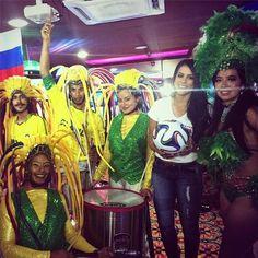 Desde Hoy vivimos el mundial en Cc el Tunal! Todos contagiados por la tricolor  #lagranjugada mi #mejorjugada