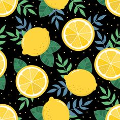 Fruits pattern Vectors, Photos and PSD files Vector Pattern, Pattern Art, Print Patterns, Pattern Design, Pattern Painting, Design Design, Fruit Illustration, Pattern Illustration, Cute Patterns Wallpaper