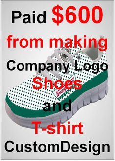 Graphic Designs for T-Shirt, Company Logo, Shoes, Bags, Mugs, Caps, and more #onlinejobs #dataentry #webresearch #workathome #graphicsdesign #customdesign #DIY #arts&craftsideas Custom Design Shoes, Custom Shoes, Custom Clothes, Jobs In Art, Work From Home Jobs, T Shirt Company, Company Logo, Pa Jobs, Creative Arts Therapy
