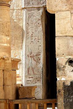 Temple of Hatshepsut, Deir al- Bahari, Luxor Egypt