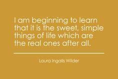 Love Laura Ingalls Wilder..