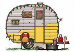 Whimsical Little Western Travel Trailer Pinned By Haw Creek