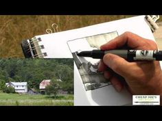 Plein Air Painting with Frank Francese - The Value Sketch (Part3)