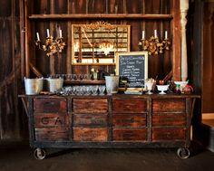 Ice cream bar set up by Embellish ...