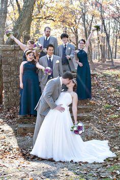 ** Real Wedding ** A Rustic November Wedding