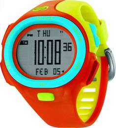 Soleus Running Watch - P.R. - Mismatched Crazy Color