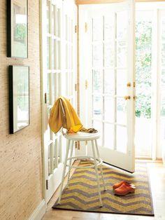 Pretty zig zag rug #DIY