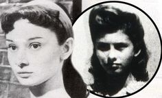 How a teenage Audrey Hepburn escaped a Nazi brothel... and other intriguing stories of how those who went on to become famous survived the last dreadful days of the war http://bit.ly/HuE1aW