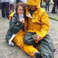 74 Best Lesbians Wearing Heavy Yellow Rubber Rain Gear