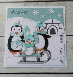 Eindelijk tijd om met de pinguïn mal wat te gaan doen. Wat zijn ze leuk, ik ben er helemaal verliefd op ze. Bij enkele bloggers zag ik het ...