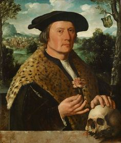Dirck Jacobsz, Portrait of Pompeius Occo, ca. 1531, oil on panel, 66.5 x 55.1 cm. Rijksmuseum, Amsterdam