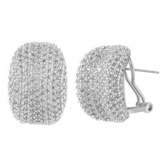 shaze rhodium-plated Elegant Earring -- Awesome products selected by Anna Churchill