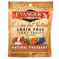 Evanger's Pheasant/Fruit/Vegetable Jerky, 4.5 oz.