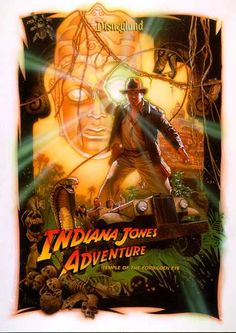Adventureland Indiana Jones Adventure