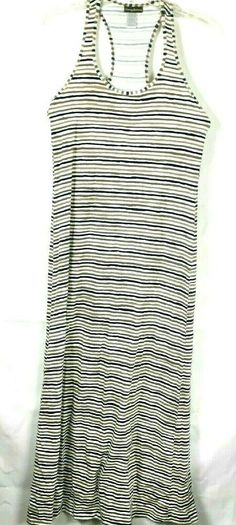 0ab0600b77 Tommy Bahama Women's Dress Size S Striped Sleeveless Race back Cotton 28K # TommyHilfiger #MaxiDress
