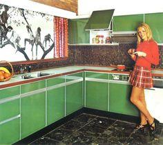 Jaren 70 keuken