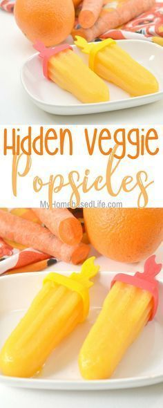 These kid-approved popsicles have a secret and parents love it. Hidden Veggie Po… These kid-approved popsicles have a secret and parents love it. Hidden Veggie Power Pops are the perfect summer healthy treat. Hidden Vegetable Recipes, Healthy Vegetable Recipes, Hidden Veggies, Healthy Summer Recipes, Healthy Kids, Vegetable For Kids, Healthy Kid Snacks, Healthy Meals, Fruit Recipes For Kids