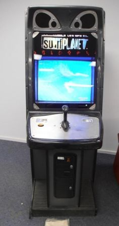 Surf Planet arcade machine