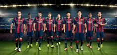 Camisetas de UEFA Champions League 2014 2015:camiseta Barcelona 2014 2015