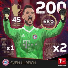 """6,668 kedvelés, 11 hozzászólás – Bundesliga (@bundesliga_en) Instagram-hozzászólása: """"Congratulations to @svenulreichoffiziell on the big milestone! 👏⠀ .⠀ .⠀ .⠀ .⠀ ⠀ #FCB #FCBayern…"""""""