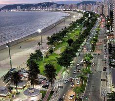 Santos, São Paulo - Brasil.
