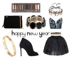 """Happy new year"" by justine-anna-k on Polyvore featuring mode, Zimmermann, Olympia Le-Tan, Gianvito Rossi, Moschino, Colette Malouf, Chanel, Cachet, Valentino et Urban Decay"